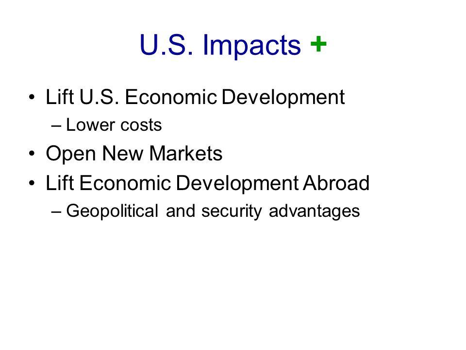 U.S.Impacts + Lift U.S.