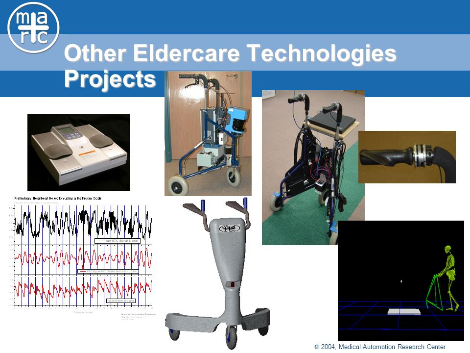 © 2004, Medical Automation Research Center Other Eldercare Technologies Projects