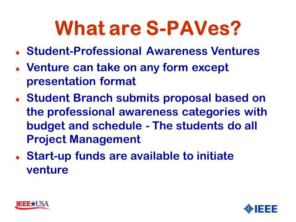 What are S-PAVes.