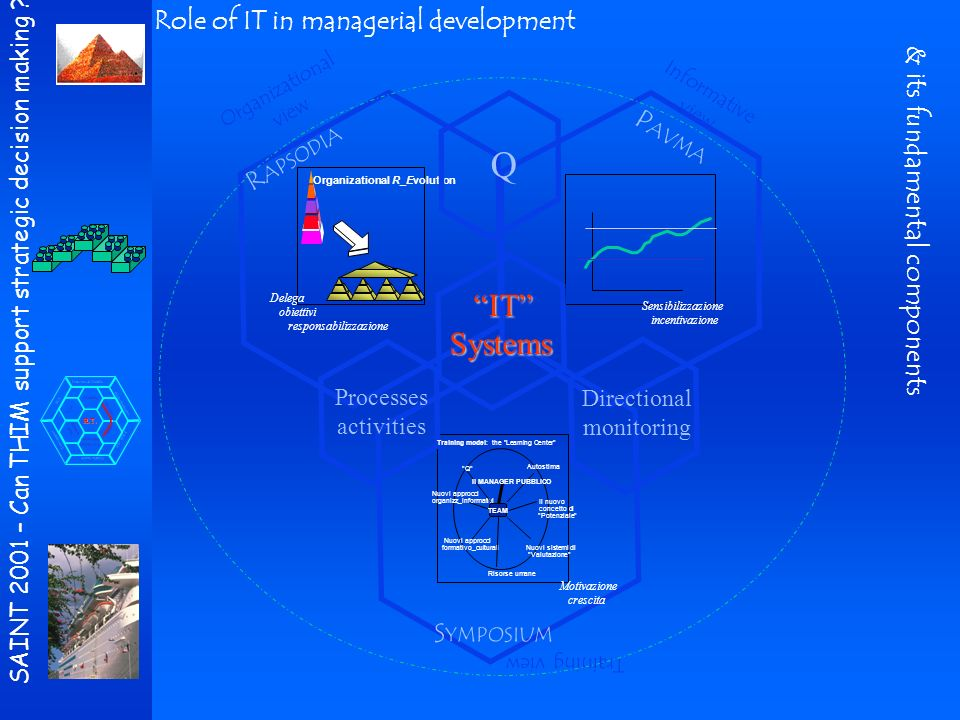 SAINT 2001 – Can THIM support strategic decision making ? H.T. Internet & Mobile Biotechnologies Mobile health FCS EBM - BP Telesupport Mobility Terri
