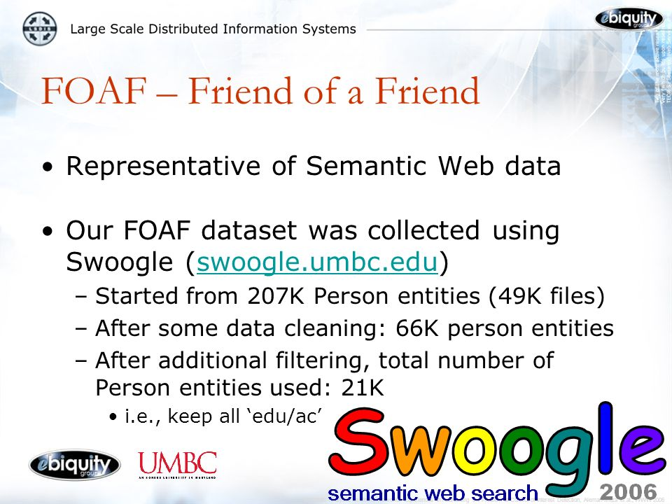 Semantic Analytics on Social Networks: Experiences in Addressing the Problem of Conflict of Interest Detection, Aleman-Meza et al., WWW2006 Our Experiences: Multi-step Process Building Semantic Web Applications requires: 5.Visualization