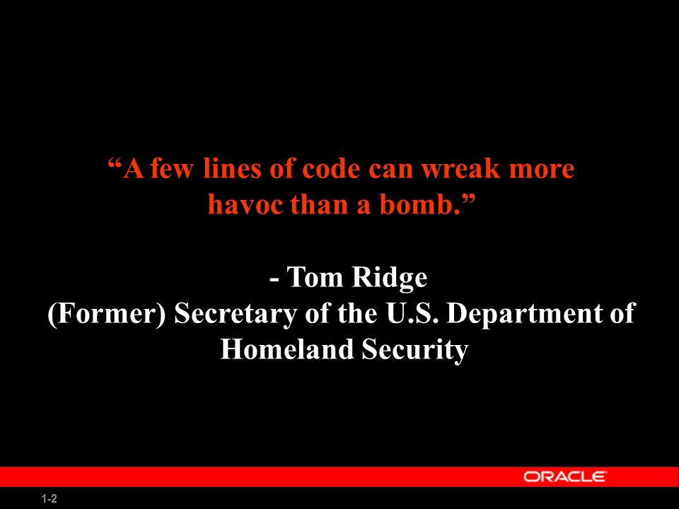 1-3 Agenda State of Information Security Problem Encapsulation Is There a Market Failure in IT Security.