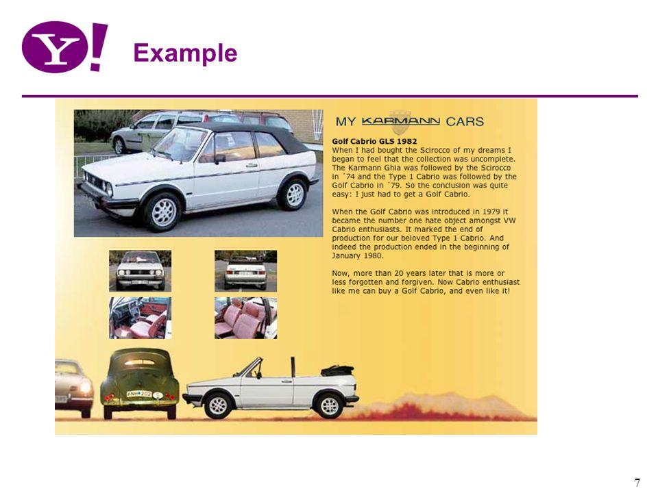 Yahoo! Confidential 7 Example