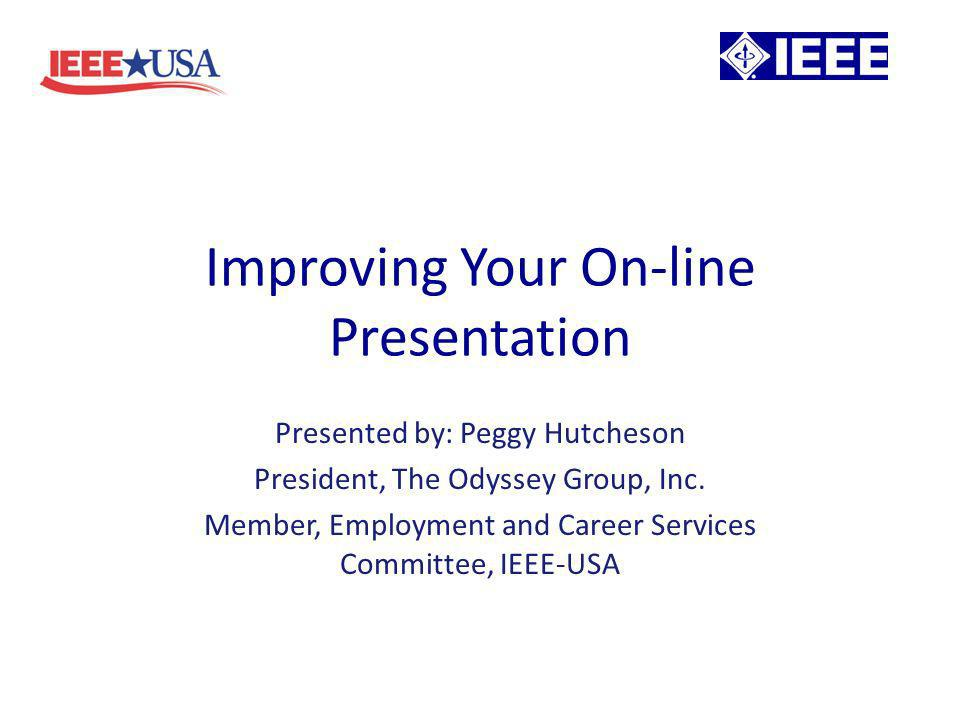 Its All About You Tips for effective presentations – Prepare a script – even if you know the material inside out.