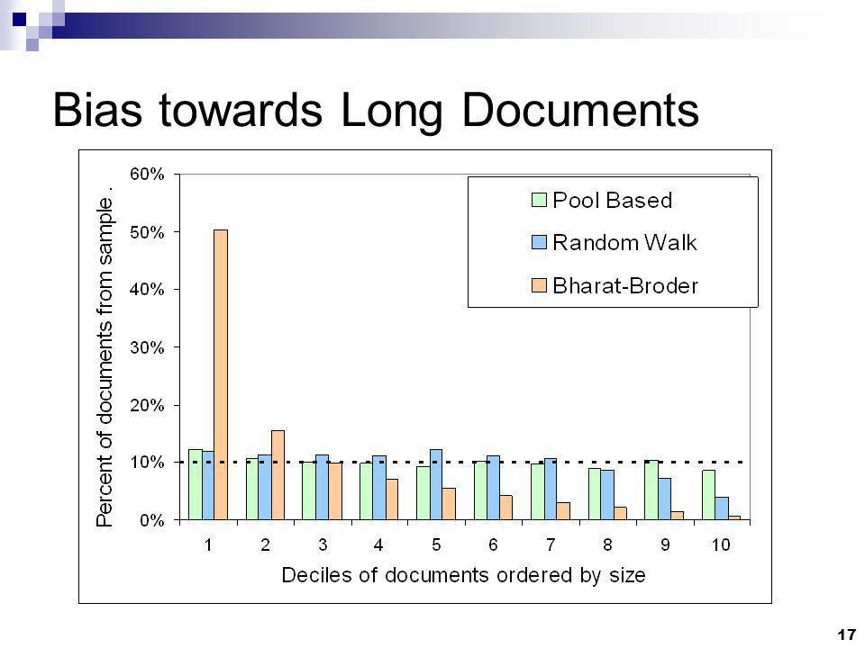 17 Bias towards Long Documents