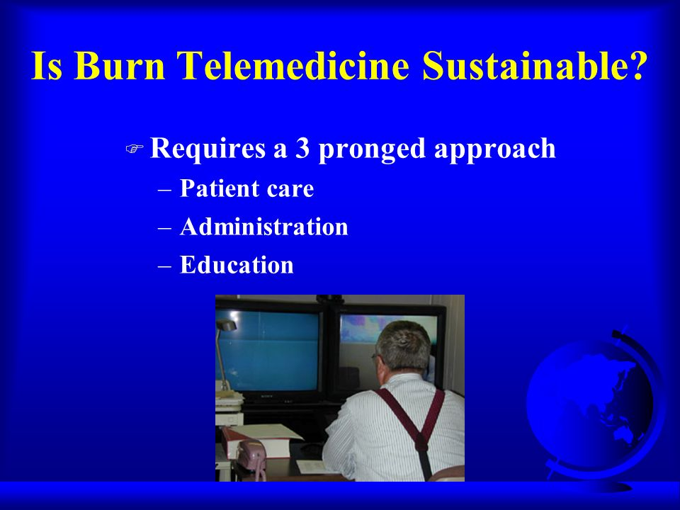 Is Burn Telemedicine Sustainable.