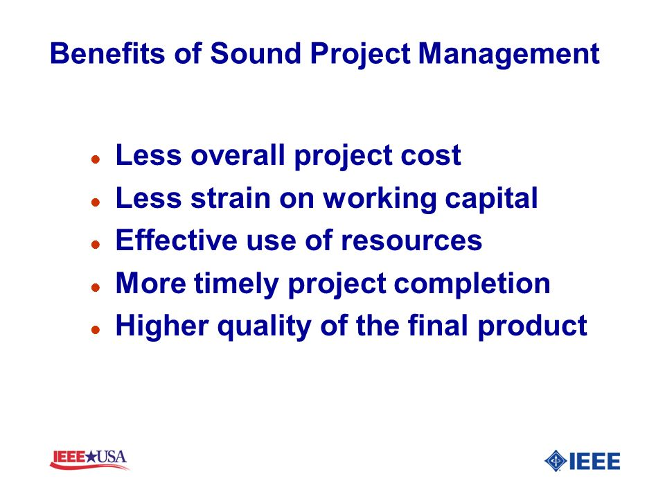 The Four Commandments of Good Project Scope Written Well defined Clearly understood Achievable