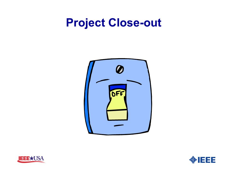 Project Close-out