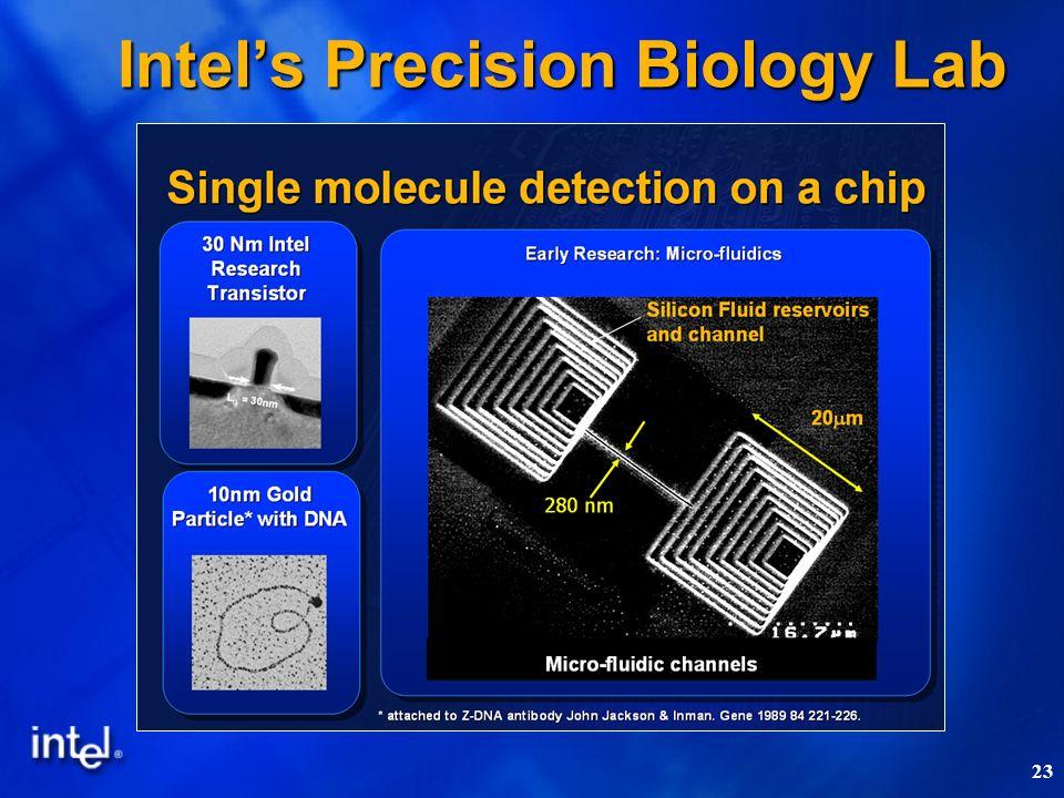 23 Intels Precision Biology Lab