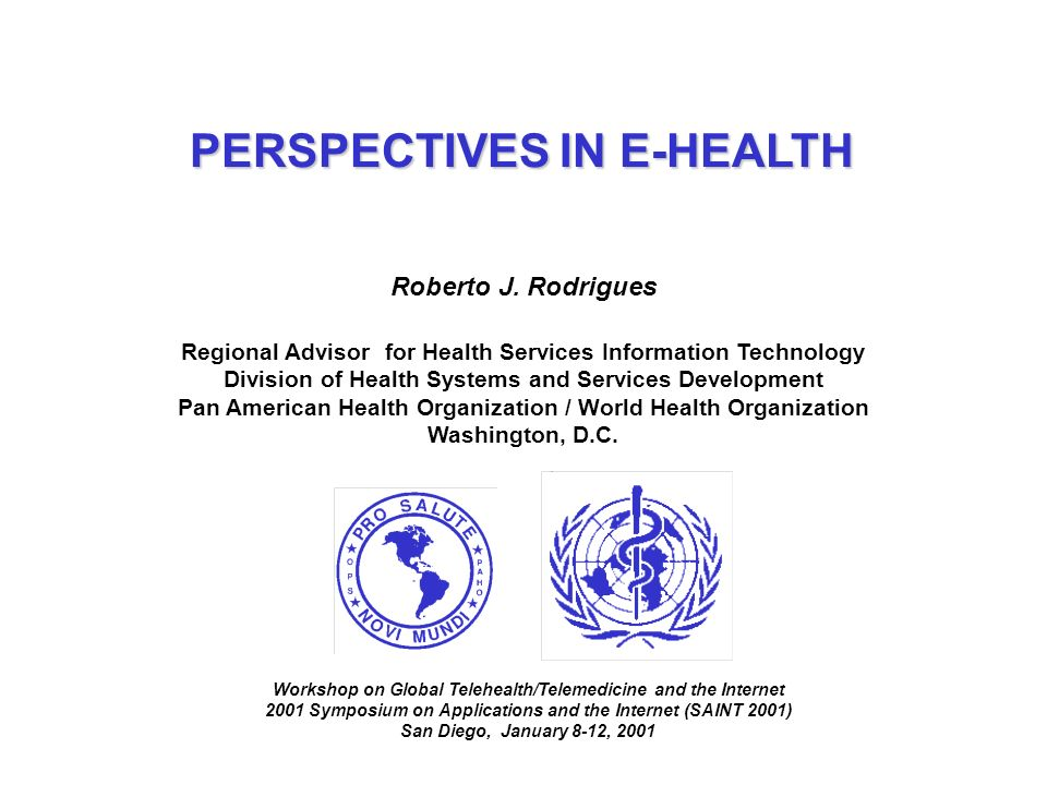 DEVELOPMENT ISSUES IN E-HEALTH 4 INFRASTRUCTURE AND MARKET 4 HEALTH SECTOR ASPECTS 4 LATIN AMERICA & CARIBBEAN METRICS 4 IMPLEMENTATION 4 DEFINITION, DRIVING FORCES, AND BARRIERS
