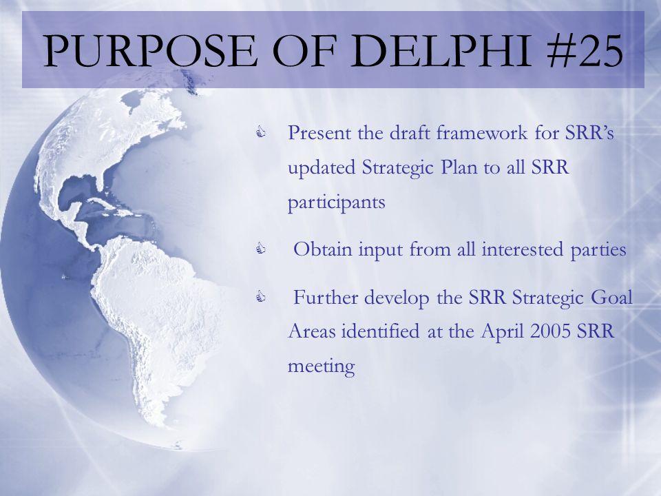 NEXT STEPS… Another Delphi.