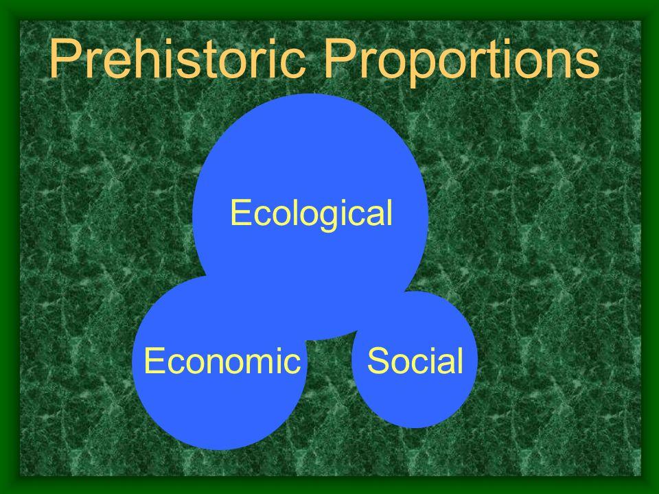 Prehistoric Proportions Ecological SocialEconomic