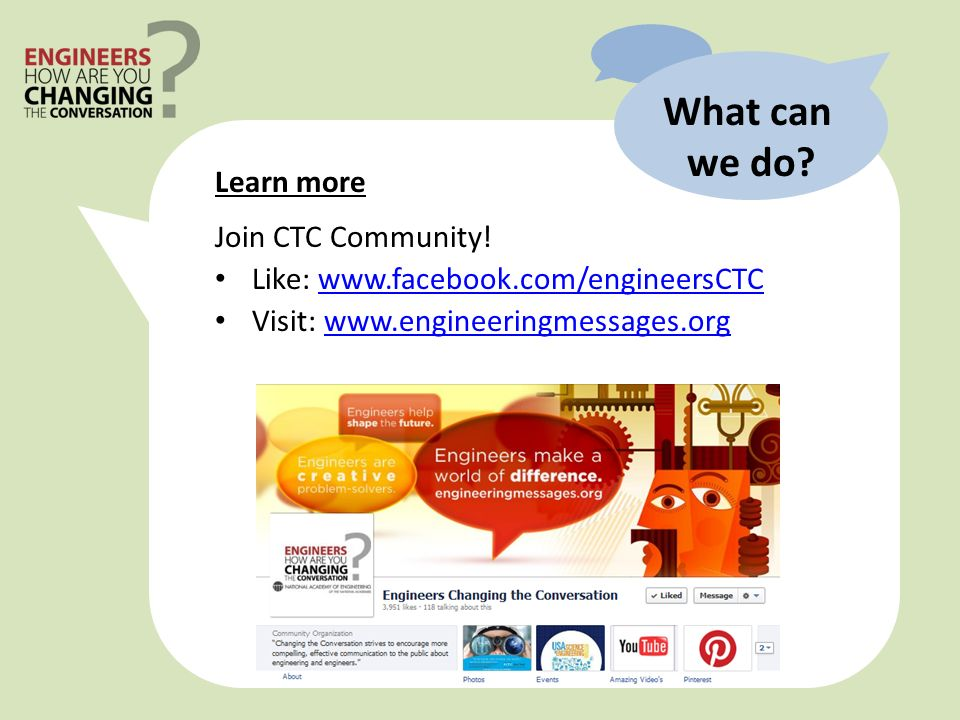 What can we do. Learn more Join CTC Community.