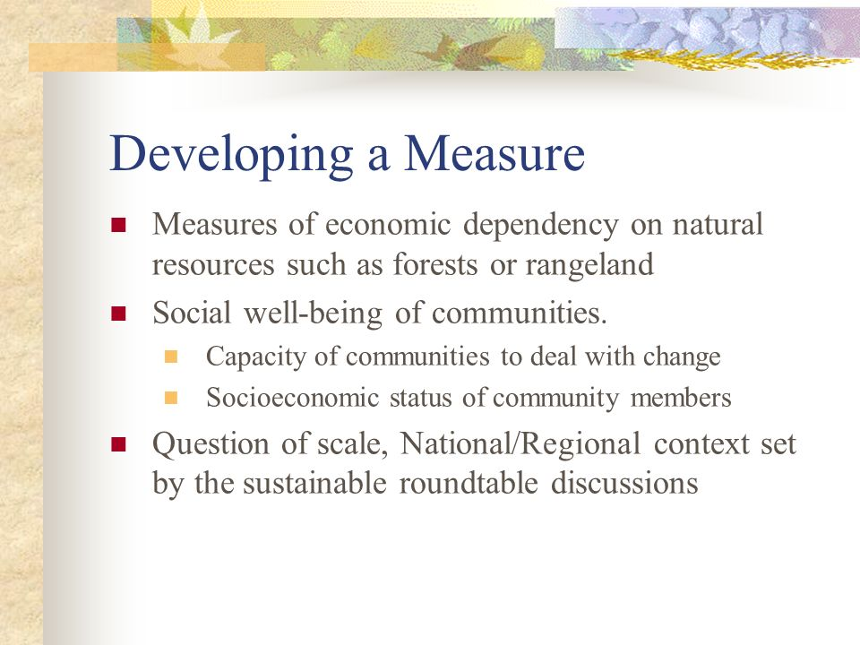 Evolution of terms Community stability Forest/range dependence Forest/range-based (or reliant) Community capacity Community resilience Community viability and adaptability
