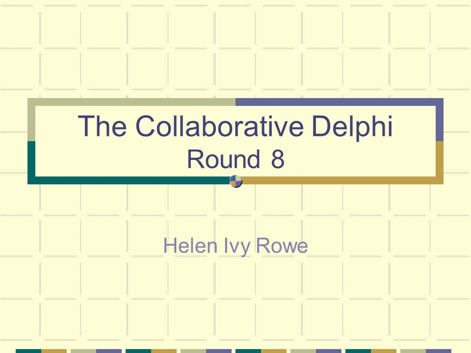 Definition The Delphi, as we use it, is a technique used for gathering and developing opinion to further the work of the SRR.