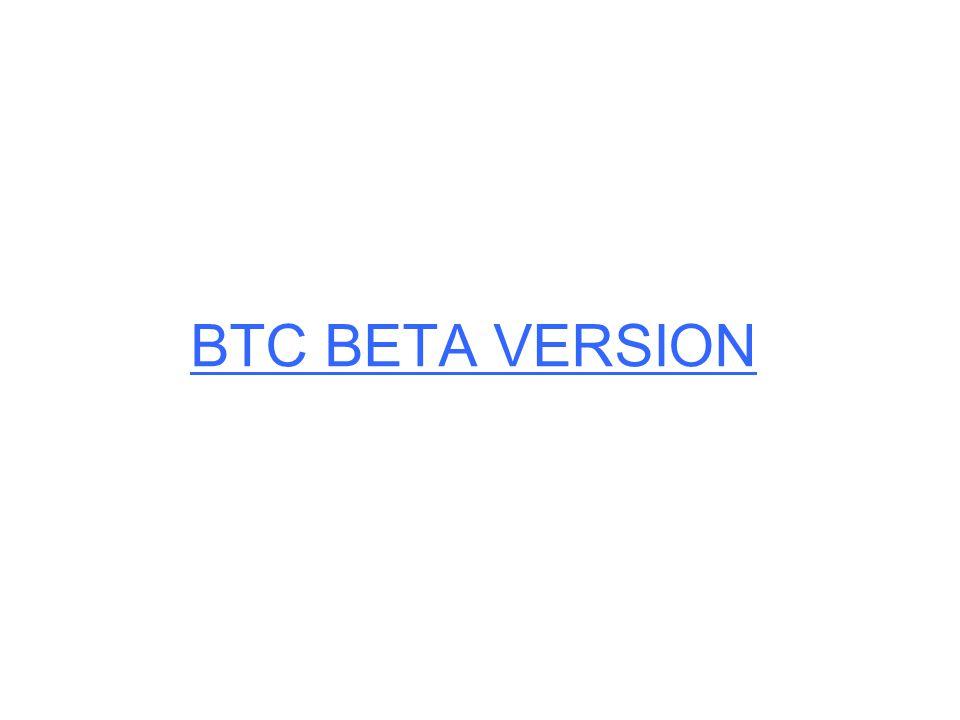 BTC BETA VERSION