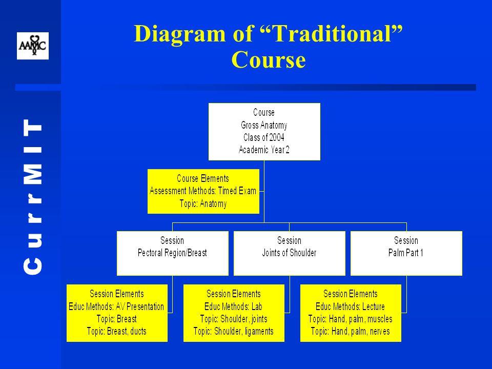C u r r M I T Diagram of Case-Based Course