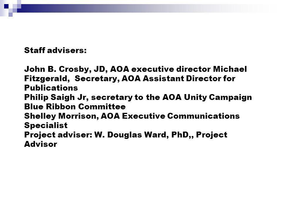 Staff advisers: John B.