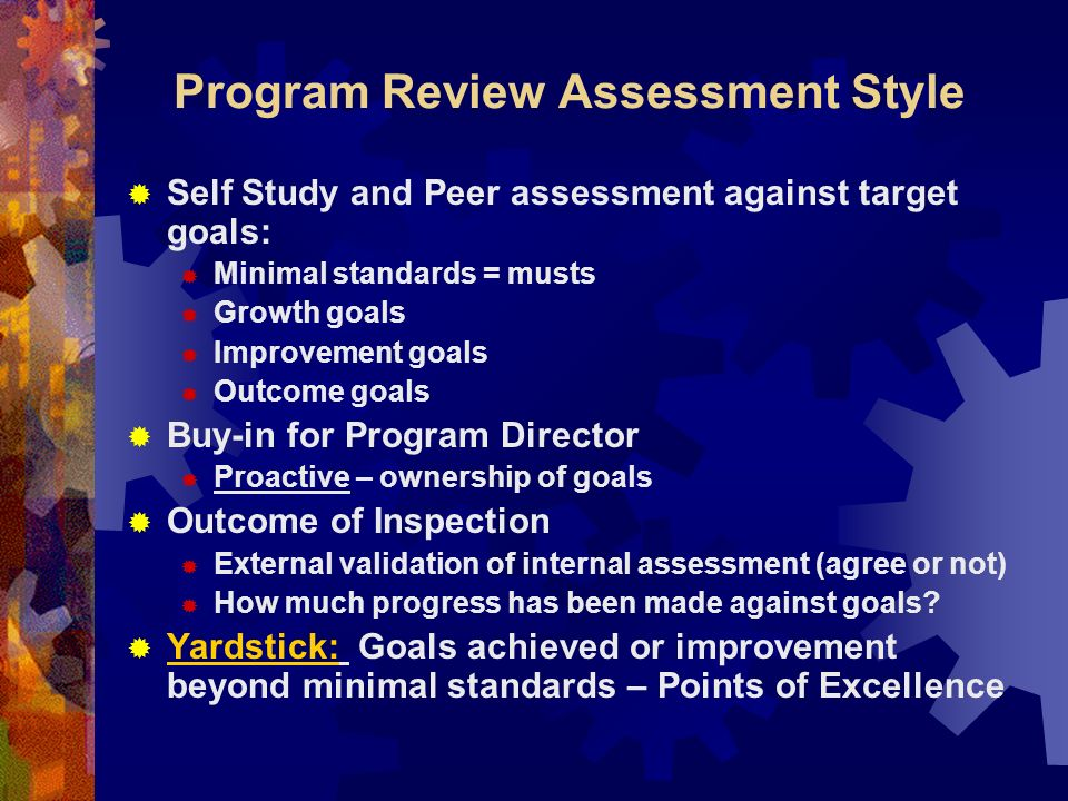 Experiences with Accreditation Visits – an OPTI view..example: Program Review 36 areas of concern on Standards Crosswalk No resident manual in print/no written curriculum Resident work hours = 2 weeks on call continuously 2 yr program required by PD/1 yr by specialty college….few recent trainees complete the two years.