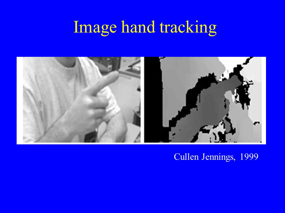 Image hand tracking Cullen Jennings, 1999