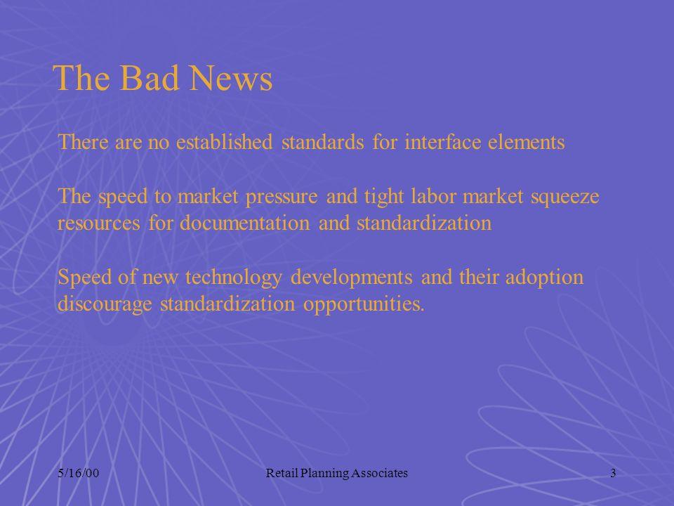 5/16/00Retail Planning Associates4 Internet Market Facts