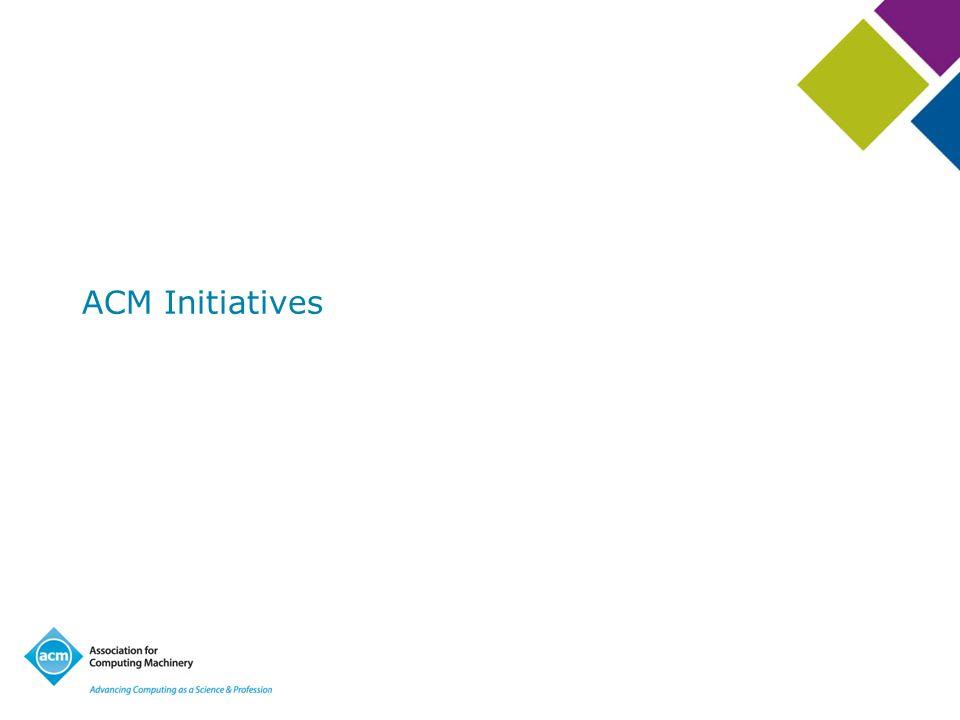 ACM Initiatives