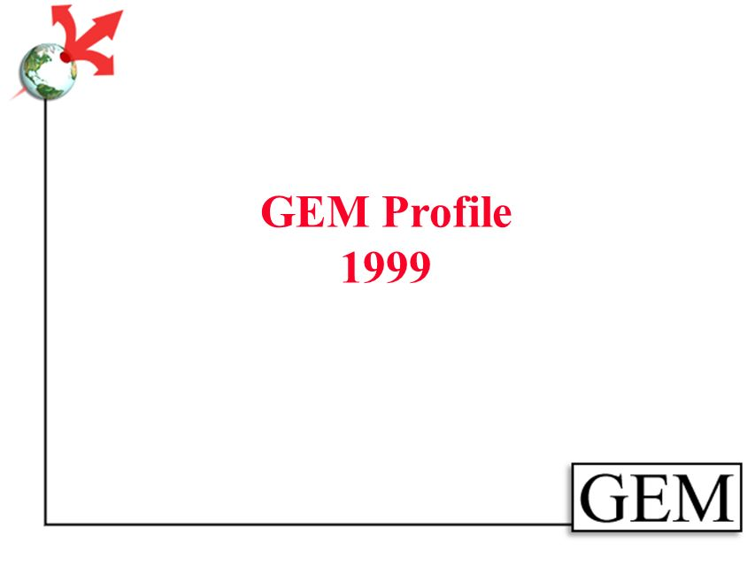 GEM Element Set Fully DC compliant: All optional All repeatable Anyone can use, anyway they like
