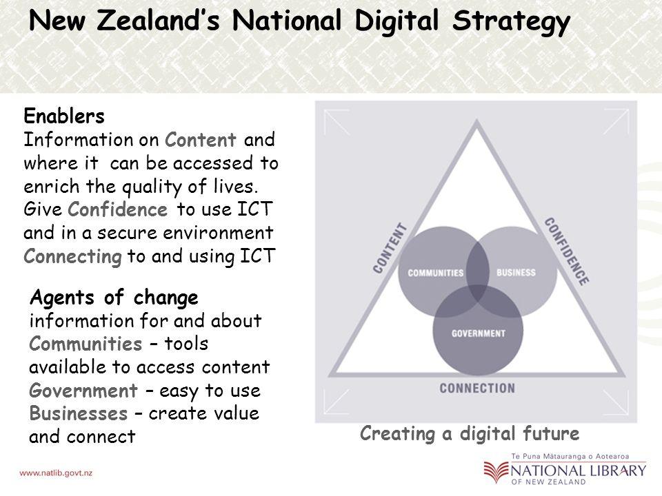 New Zealands National Digital Strategy