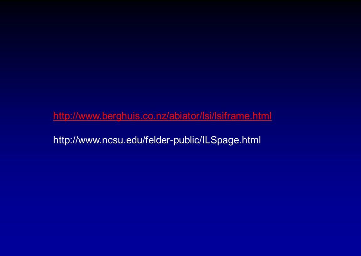 http://www.berghuis.co.nz/abiator/lsi/lsiframe.html http://www.ncsu.edu/felder-public/ILSpage.html