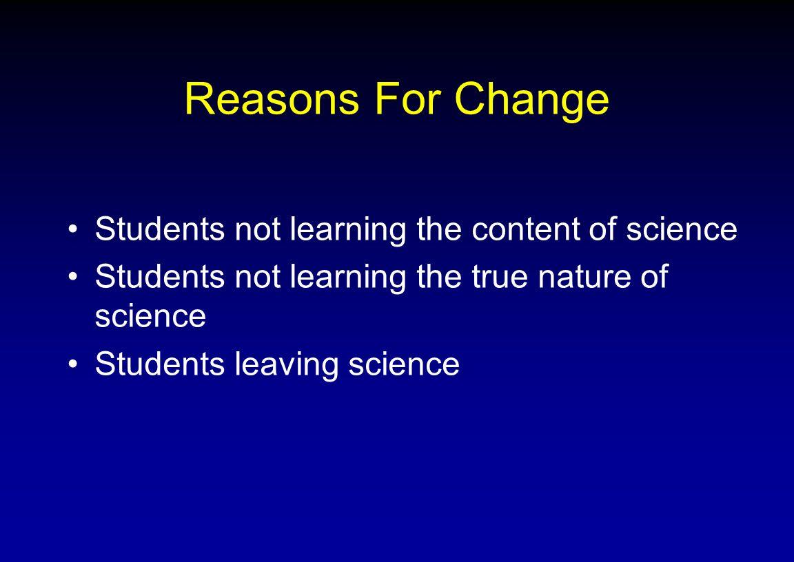 Why should you teach this seminar.