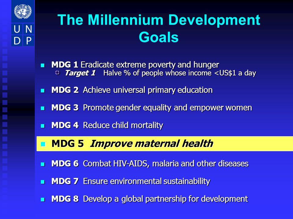 Goal 4: Regional under 5 Mortality %