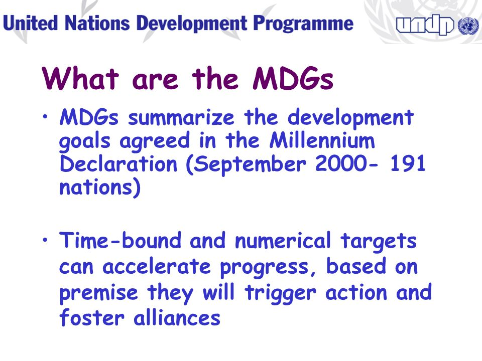 Millennium Development Goals (MDGs) Presentation to the MDGR Technical Committee June 12, 2002- Beirut