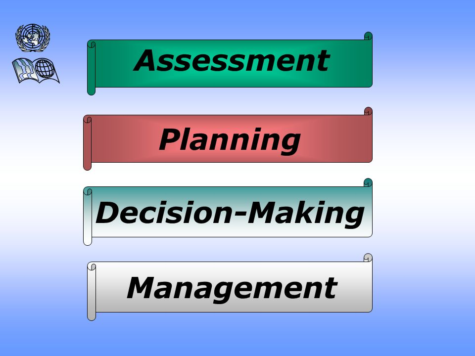 Assessment Planning Decision-Making Management