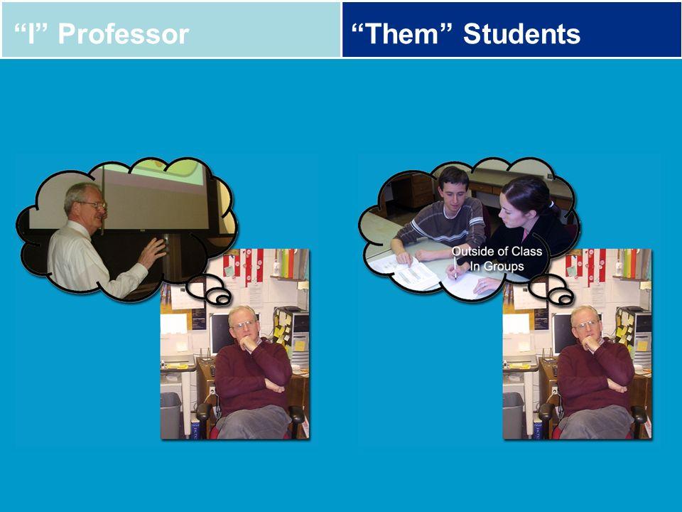 I ProfessorThem Students