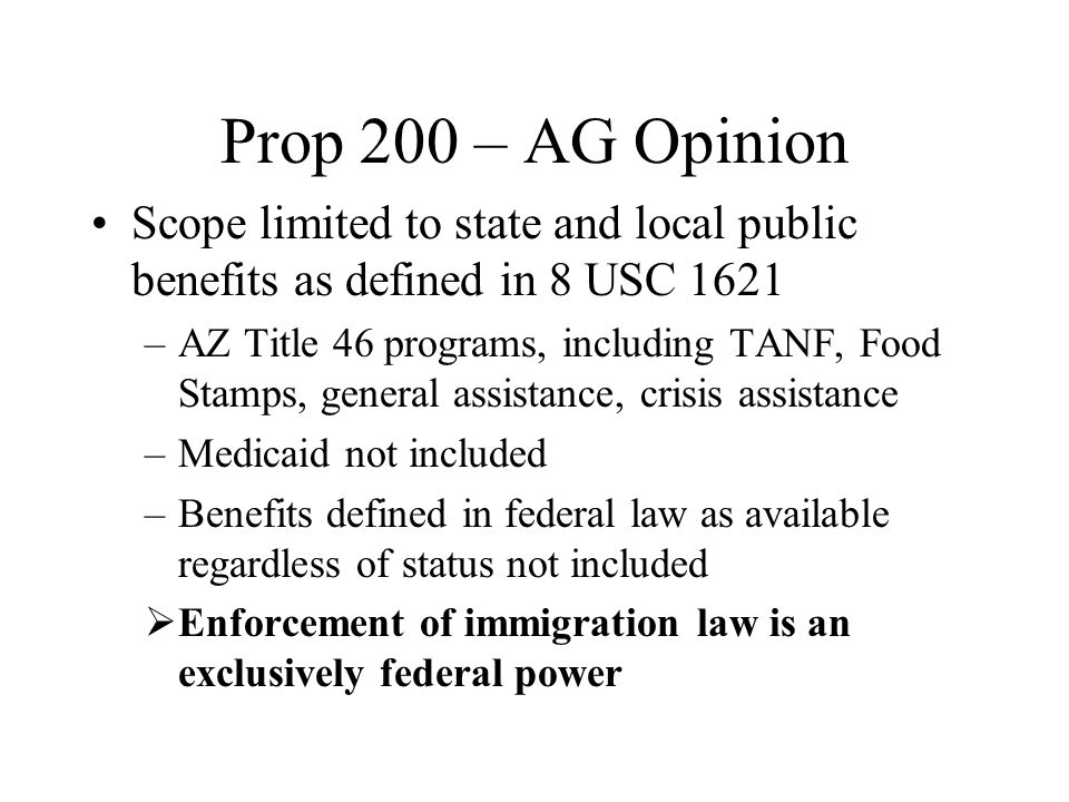 After Prop 200 Legal challenge pending – TRO denied me too effect in other states –According to AZ Republic, experts are linking trend to rapid growth in Latino population in states such as Arkansas, Colorado and Georgia