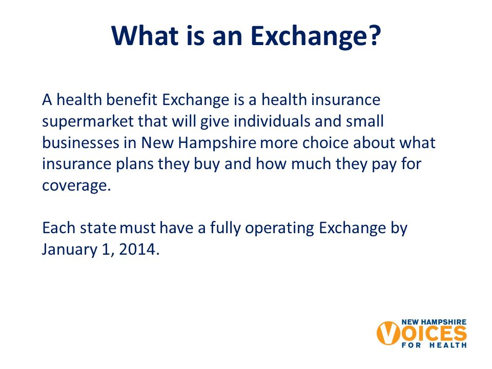 What is an Exchange.
