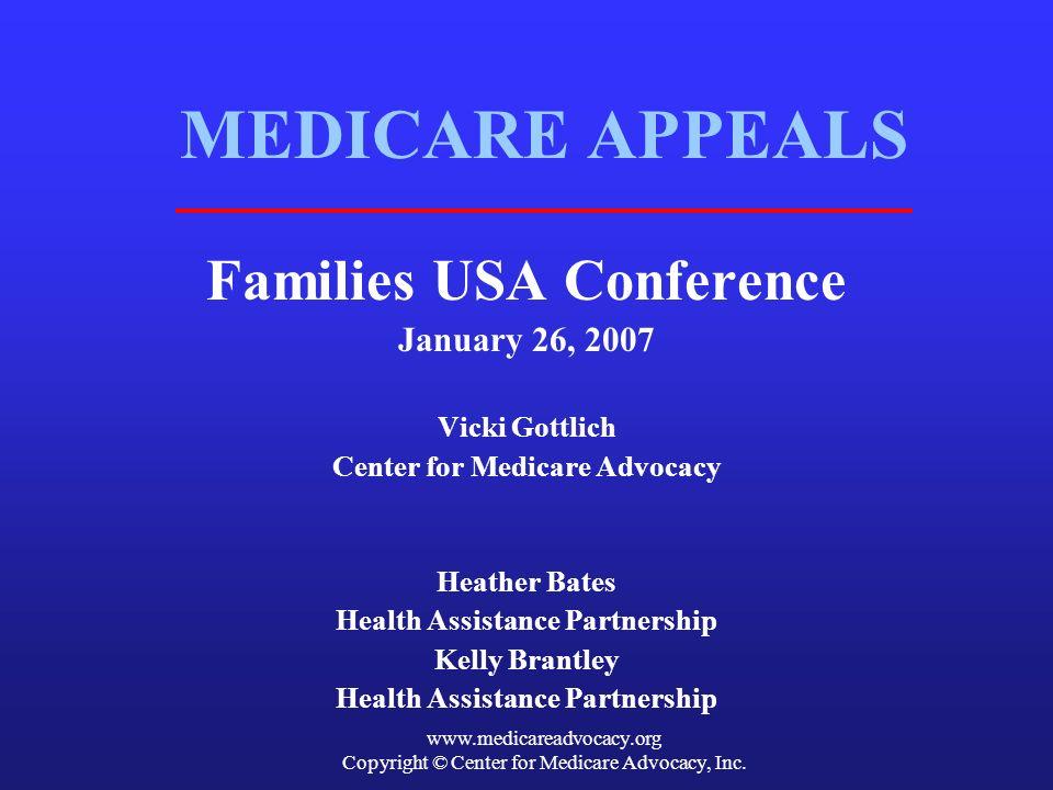 Copyright © Center for Medicare Advocacy, Inc.
