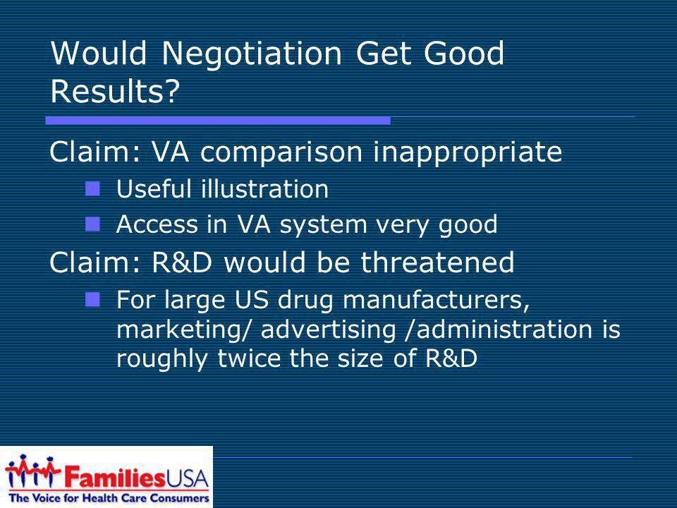 Would Negotiation Get Good Results.