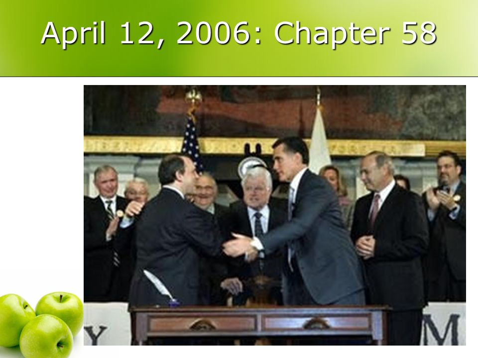 Chapter 58– Insurance Market and Other Reforms Small/Nongroup Insurance Market Reforms Non-group (individual) market will merge with small group market on 7/1/07.