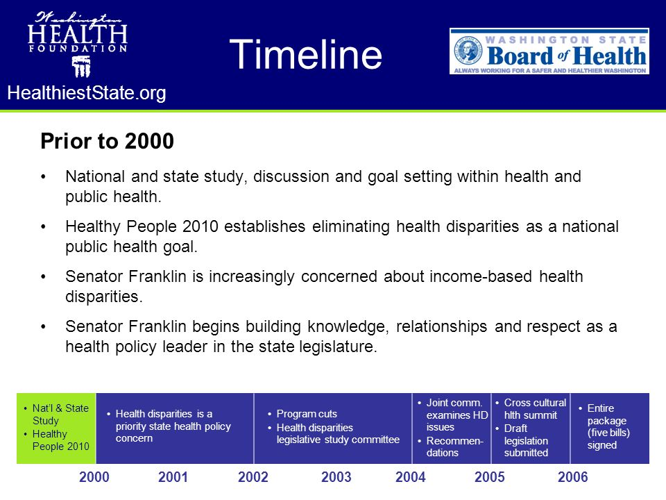 HealthiestState.org Concerns build in Washington State communities of color about dwindling access to medical care.