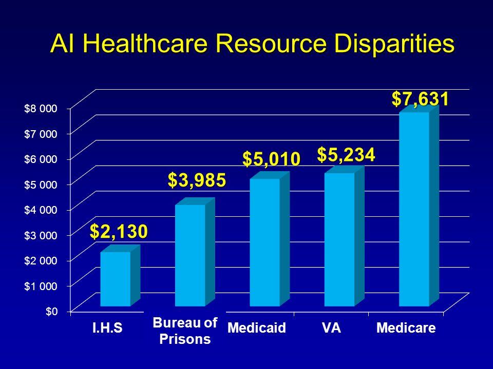 AI Healthcare Resource Disparities Bureau of Prisons