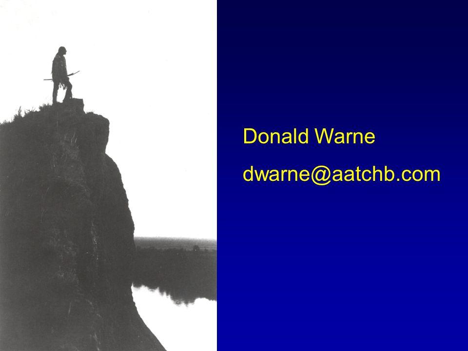 Donald Warne dwarne@aatchb.com