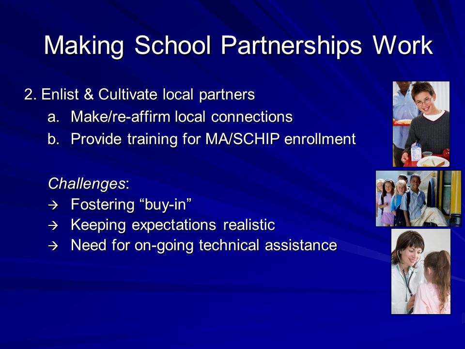 Making School Partnerships Work 2.
