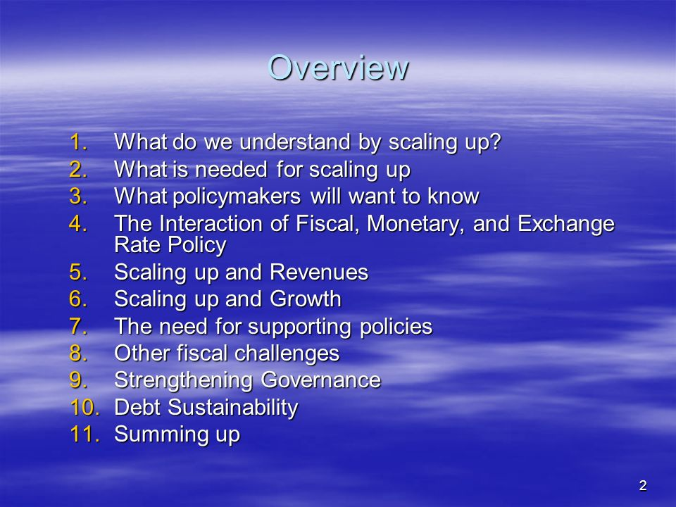 3 1.What do we understand by scaling up.