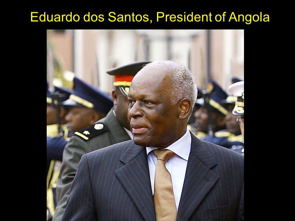Eduardo dos Santos, President of Angola
