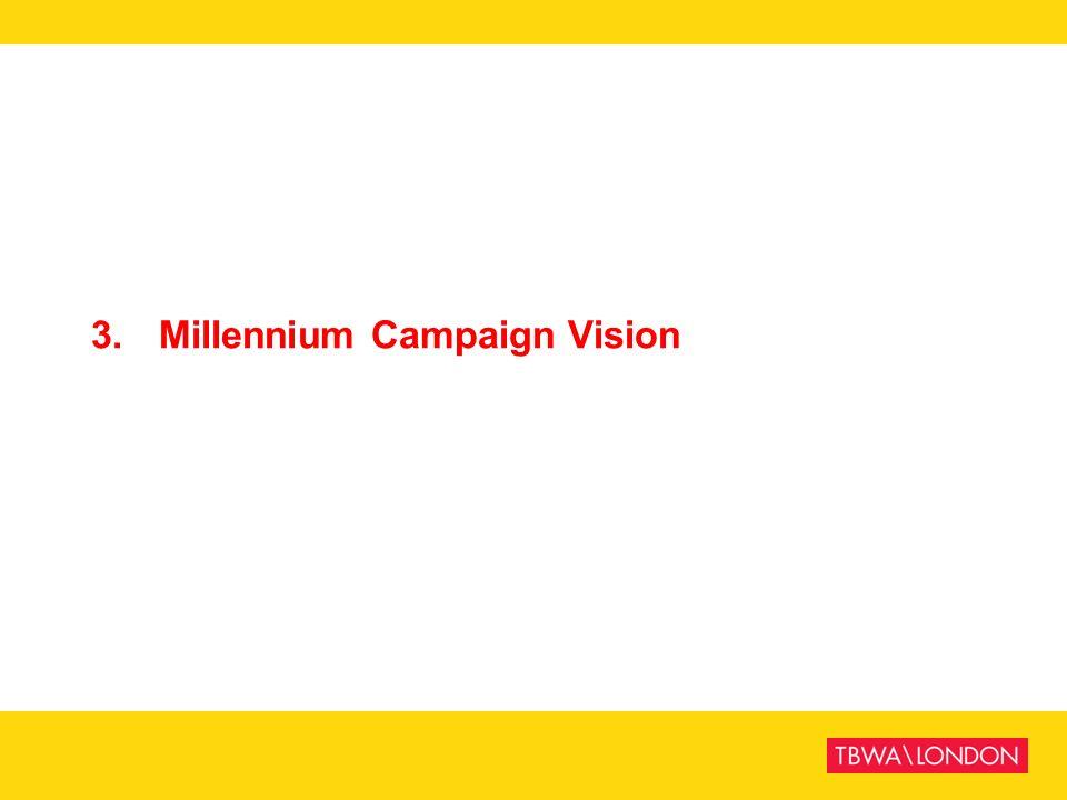 3.Millennium Campaign Vision