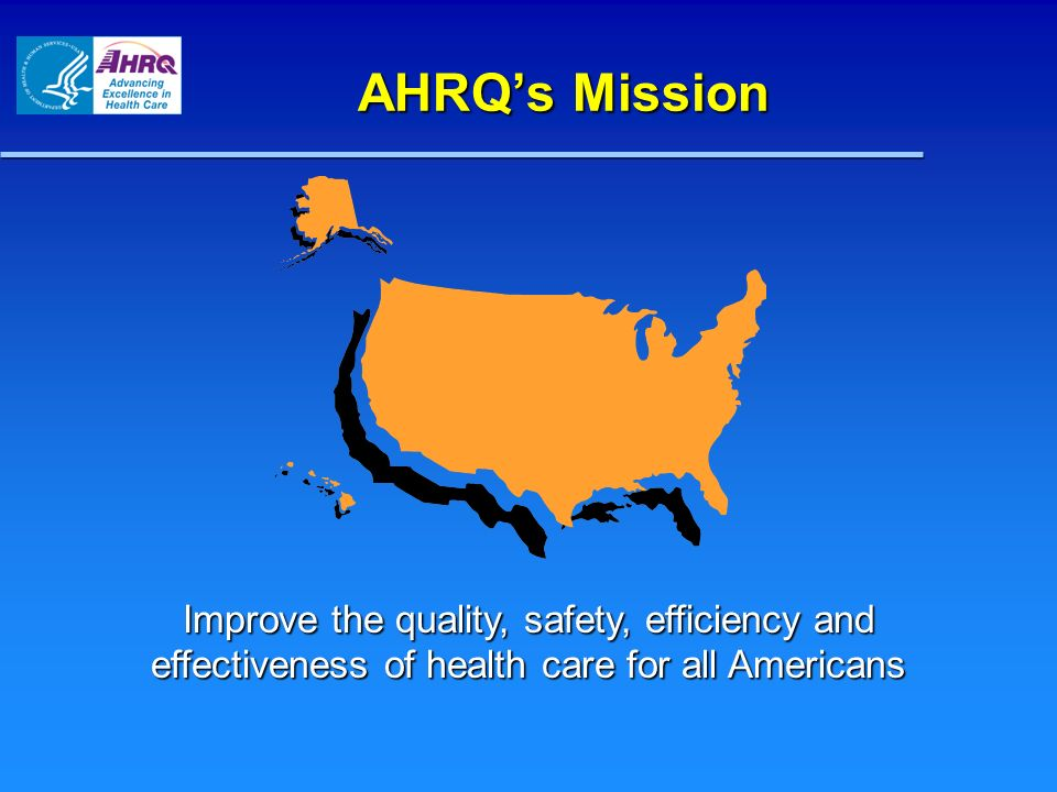 Research At HHS What is AHRQs Space.