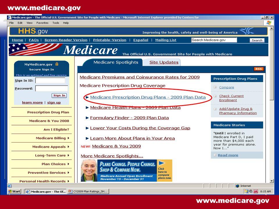 3 www.medicare.gov