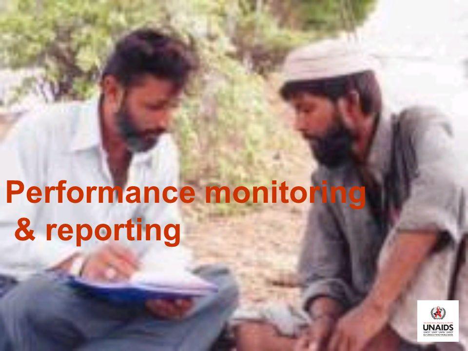 Performance monitoring & reporting