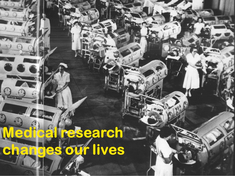 Medical research changes our lives